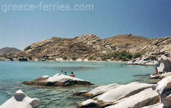 Kolymbithres Beach Paros Island Cyclades Greece