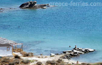 Monastiri Beach Paros Island Cyclades Greece