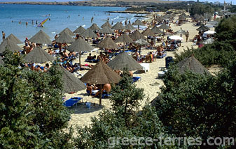 Santa Maria Beach Paros Island Cyclades Greece