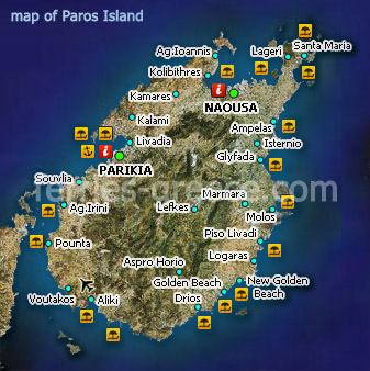 Halki Island Greece Map