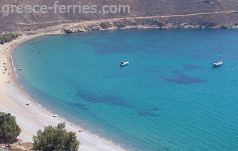 Ganema Beach in Serifos Island Cyclades Greece
