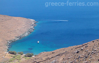 Kedarchos Beach in Serifos Island Cyclades Greece