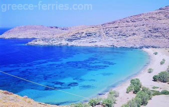Sykamia Beach in Serifos Island Cyclades Greece