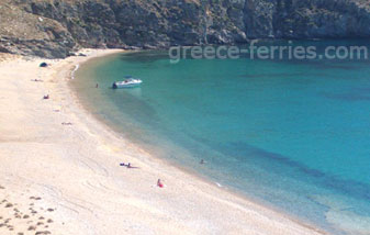 Vagia Beach in Serifos Island Cyclades Greece