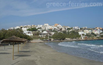 Azolimnos Beach Syros Cyclades Island Greece