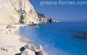 Beaches in Agathonisi Dodecanese Greek Islands Greece