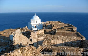 Panagia of Castro Astypalea Dodecanese Greek Islands Greece