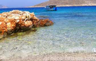 Yiali Beach Halki Dodekanesse Greek Islands Greece