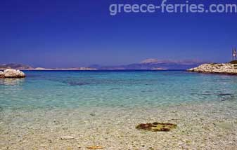 Pondamos Beach Halki Dodekanesse Greek Islands Greece