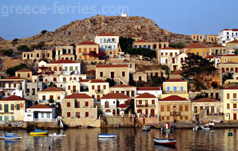 Halki Dodekanesse Greek Islands Greece
