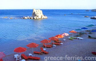 Diafani Beach Karpathos Dodekanesse Greek Islands Greece