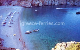 Devil's Bay Beach Karpathos Dodekanesse Greek Islands Greece