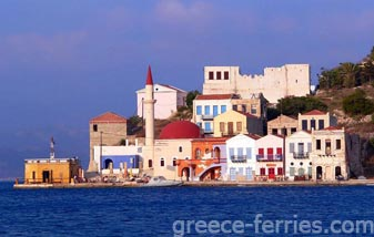 Kastelorizo Dodecanese Greek Islands Greece