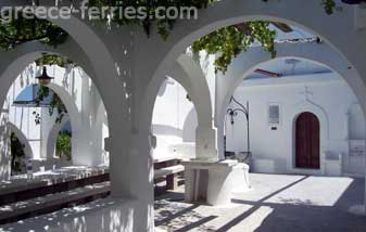 Panagia Kyra Nisyros Dodecanese Greek Islands Greece