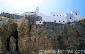 Panagia Spiliani Nisyros Dodecanese Greek Islands Greece