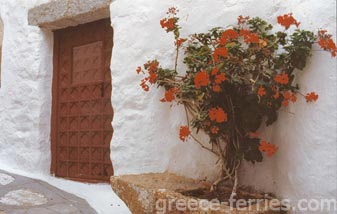 Architecture of Patmos Dodecanese Greek Islands Greece