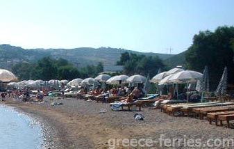 Kambos Beach Patmos Dodecanese Greek Islands Greece