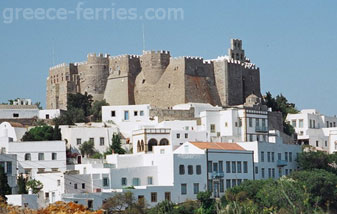 The Monastery of St John Patmos Dodecanese Greek Islands Greece