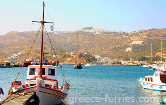 Chora Patmos Dodecanese Greek Islands Greece