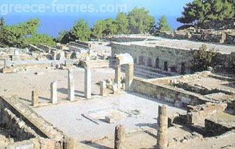 Archeological site of Ialyssos Rhodos - Dodecaneso - Isole Greche - Grecia