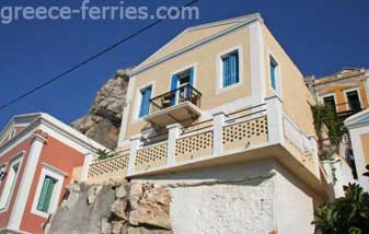Architecture of Symi Dodecanese Greek Islands Greece