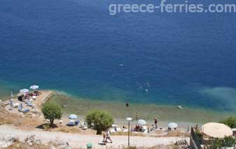 Nimporios Beach Symi Dodecanese Greek Islands Greece