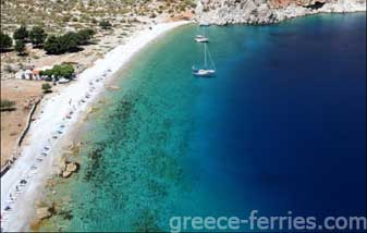NOS Beach Symi Dodecanese Greek Islands Greece