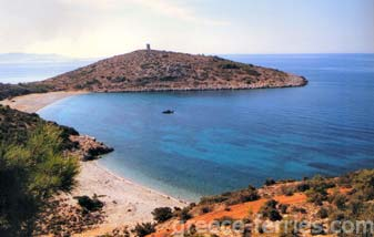 Agia Eirini Beach Chios East Aegean Greek Islands Greece