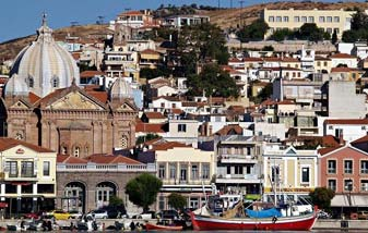 Architecture of Lesvos East Aegean Greek Islands Greece
