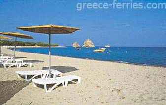 Aylonas Beach Limnos East Aegean Greek Islands Greece