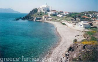 Kato Gialos Beach Psara East Aegean Greek Islands Greece