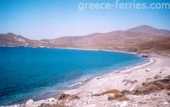 Lakka Beach Psara East Aegean Greek Islands Greece
