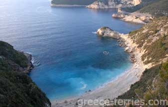Drasti Beach Corfu Greek Islands Ionian Greece