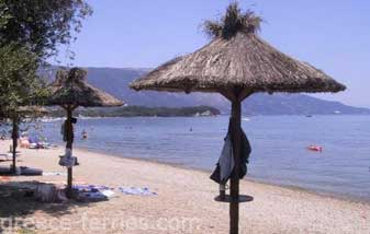 Dasia Beach Corfu Greek Islands Ionian Greece