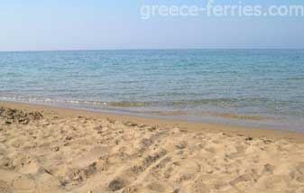 Agios Georgios Beach Corfu Greek Islands Ionian Greece