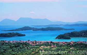 Lefkada Greek Islands Ionian Greece
