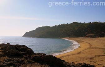 Pahia Ammos Beach Samothraki North Aegean Greek Islands Greece
