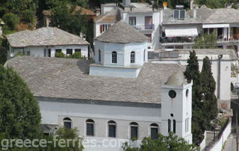 Churches Monasteries Thasso North Aegean Greek Islands Greece