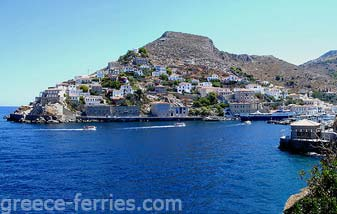 Hydra Saronic Greek Islands Greece