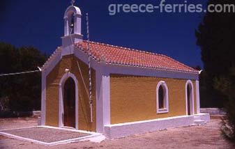The Monastery of Agios Nikolaos Spetses Greek Islands Saronic Greece