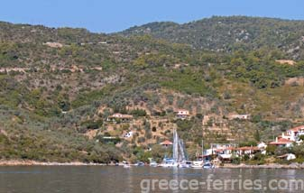 Ferries to Alonissos, Alonissos Travel Guide - Areas