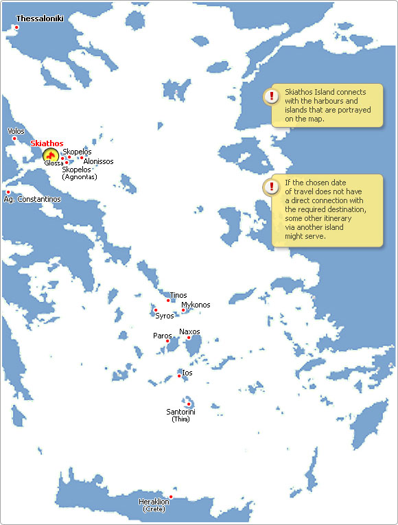 Ferries to Greece Weather in Skiathos