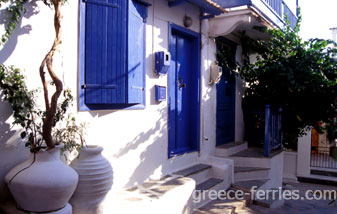 Architecture Skopelos Sporades Greek Islands Greece