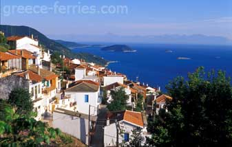 Glossa Village Skopelos Sporades Greek Islands Greece