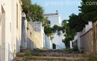 Architecture of Skyros Greek Islands Sporades Greece