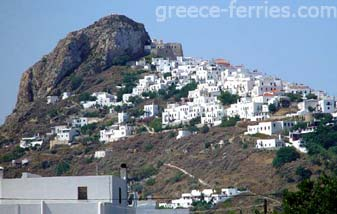 Chora Skyros Greek Islands Sporades Greece