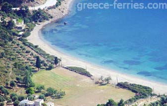 Pefkos Beach Skyros Greek Islands Sporades Greece