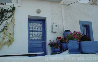 Architecture of Anafi Cyclades Greek Islands Greece